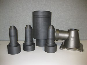 Graphite and Hastelloy Ejector Parts